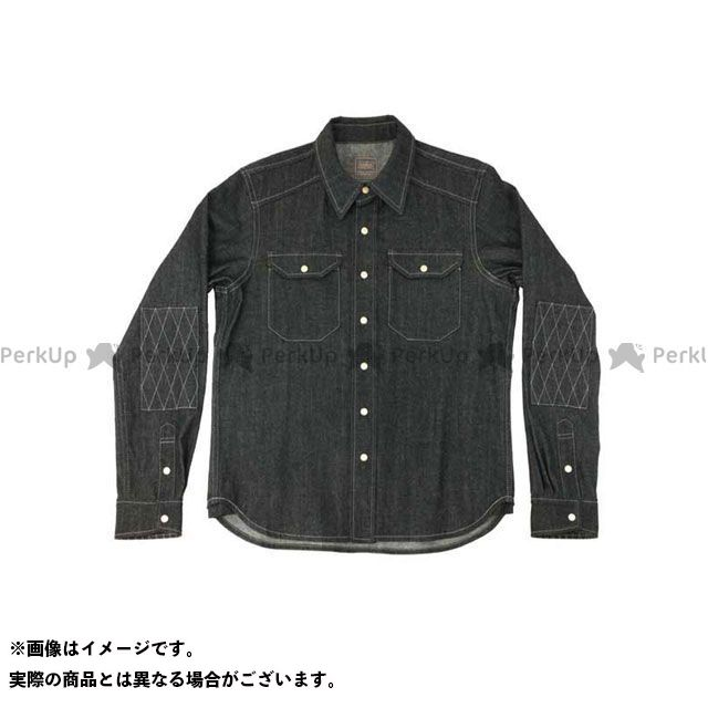KADOYA K'S PRODUCT No.6572 RIDE WORK SHIRT2(ブラック) サイズ:3L カドヤ