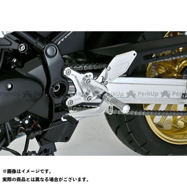 オーバーレーシング Z900RS バックステップ 4ポジション(シルバー) OVER RACING
