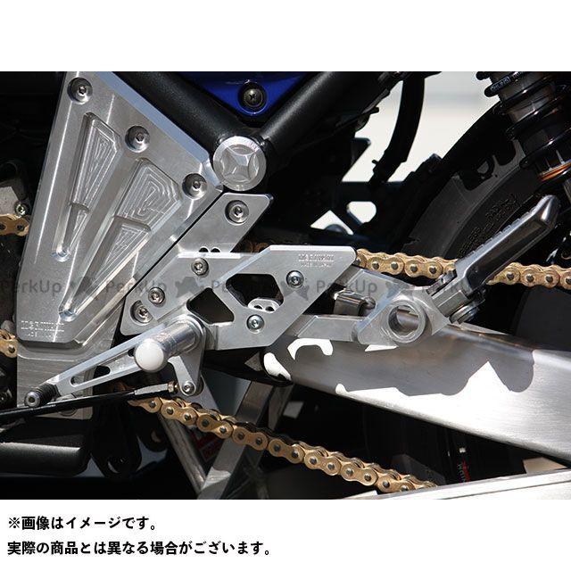 モリワキ ゼファー1100 バックステップ関連パーツ バックステップキット(シルバー)