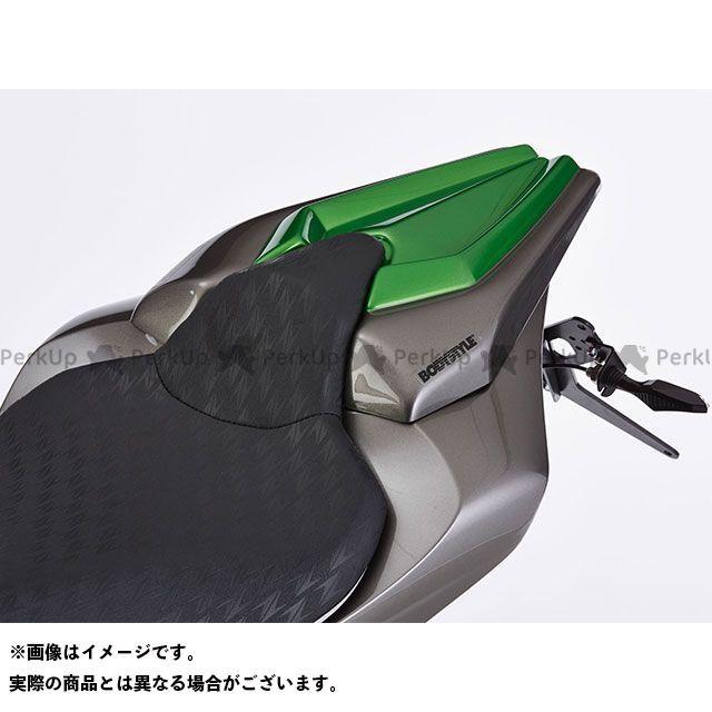 BODY STYLE Z1000 シートカバー KAWASAKI Z1000 2014 グレー/グリーン ボディースタイル