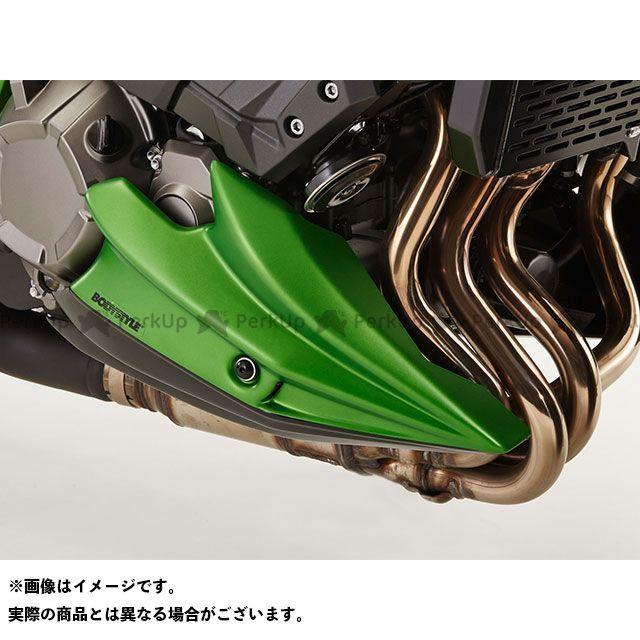 送料無料 BODY STYLE Z800 カウル・エアロ ベリーパン KAWASAKI Z800e 2013-2015 オレンジ/ブラック