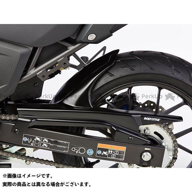 BODY STYLE Z1000 Z750R リアハガー KAWASAKI Z1000 2007-2009 / Z750R 2011-2012 マットブラック ボディースタイル