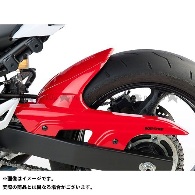 BODY STYLE GSR750 リアハガー SUZUKI GSR 750 2011-2016 ホワイト ボディースタイル