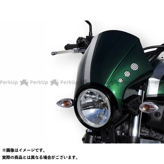 BODY STYLE XSR700 ヘッドライトカバー YAMAHA XSR700 2016-2018 グリーン ボディースタイル