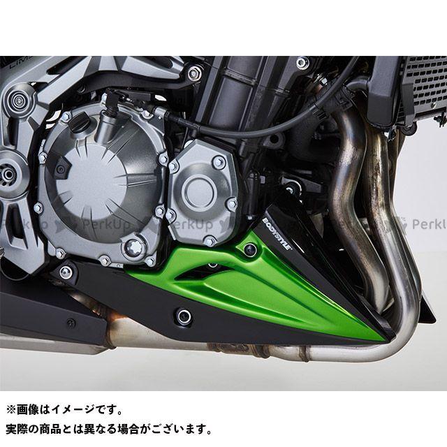 送料無料 BODY STYLE Z900 カウル・エアロ ベリーパン KAWASAKI Z900 2017-2018 グリーン/ブラック