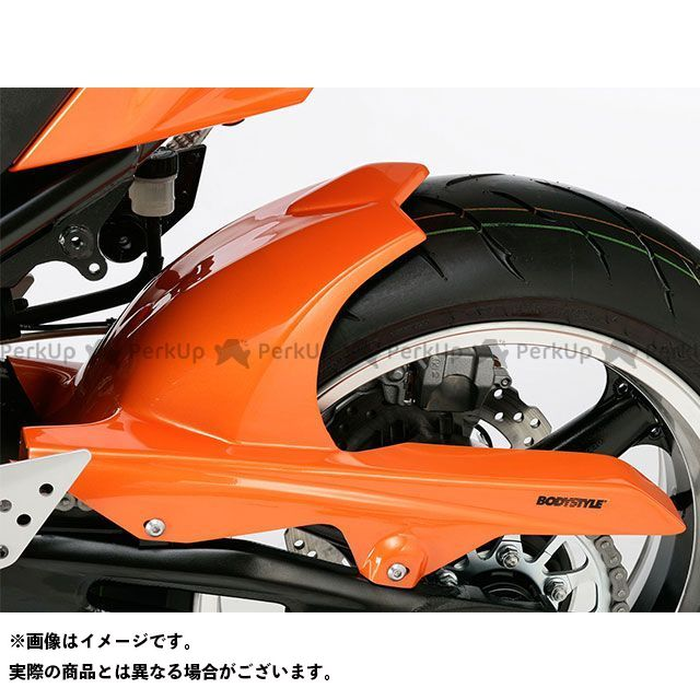 BODY STYLE Z1000 Z750R リアハガー KAWASAKI Z1000 2007-2009 / Z750R 2011-2012 未塗装 ボディースタイル