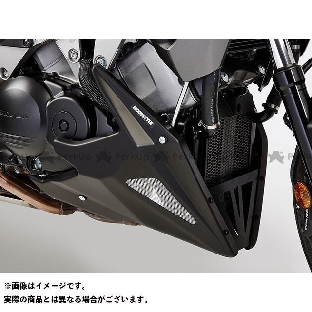 BODY STYLE VFR800X クロスランナー ベリーパン HONDA VFR800X Crossrunner 2015-2016 マットブラック ボディースタイル