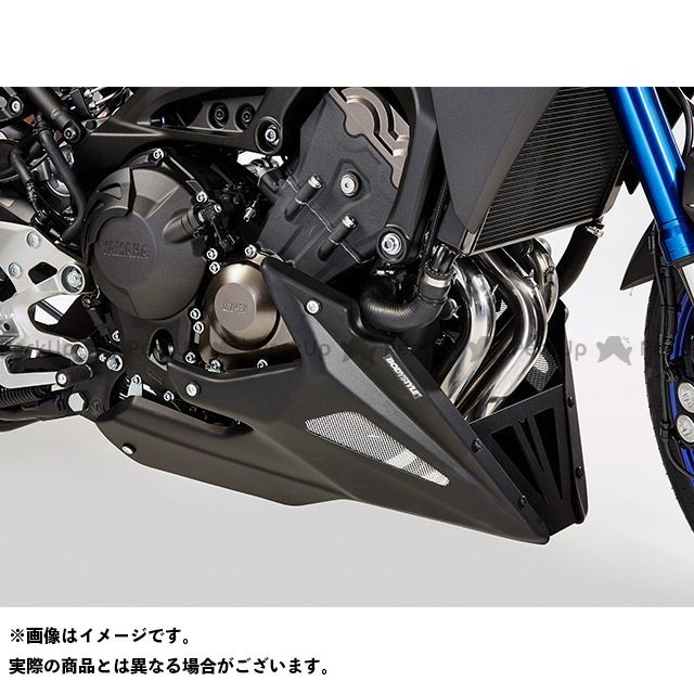 BODY STYLE FZ8 ベリーパン YAMAHA FZ8 2010-2016 / FZ8 Fazer 2010-2016 マットブラック ボディースタイル