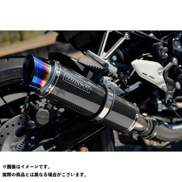 【エントリーで最大P21倍】BMS Z900RS R-EVO2 スリップオンマフラー カーボン 政府認証 BMS RACING FACTORY