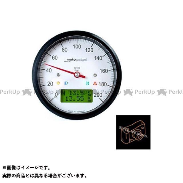 【エントリーで更にP5倍】モトガジェット 汎用 モトスコープクラシック スピード ブラック motogadget