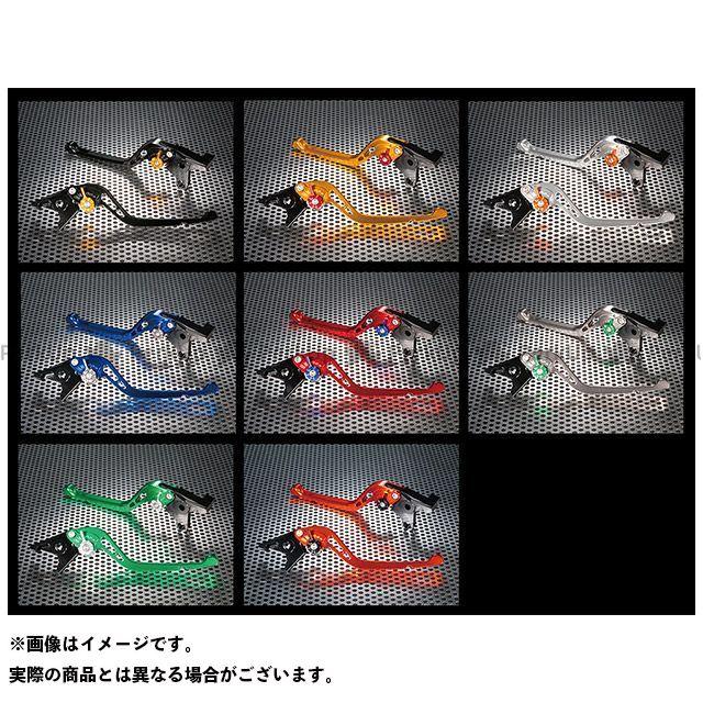 ユーカナヤ Z900 GPタイプ アルミ削り出しビレットショートレバー(レバーカラー:チタン) カラー:調整アジャスター:ブルー U-KANAYA