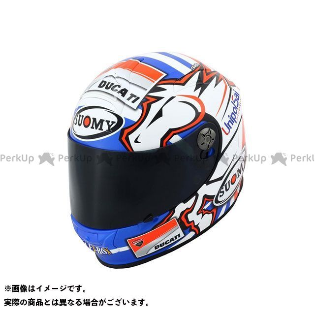 SUOMY スオーミー フルフェイスヘルメット SSR0033 SR-SPORT DOVIZIOSO GP-DUCATI XL/61-62cm