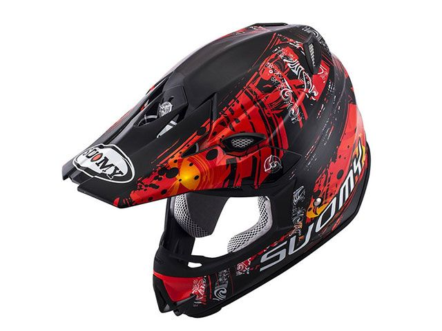 SUOMY スオーミー オフロードヘルメット SMJ0035 MR.JUMP MAORI(レッド) M/57-58cm