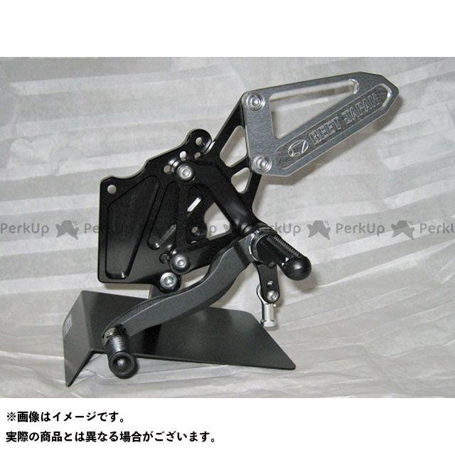 BEET ニンジャ250 ニンジャ400 ハイパーバンク 固定式(ブラック/シルバー) ビートジャパン
