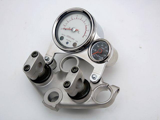 フリークスピット SR400 SR500 メーターステー類 オリジナルメーターステー極厚タイプ verII アルミ