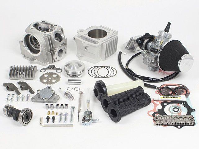 送料無料 SP武川 ゴリラ モンキー ボアアップキット スペシャルプライスキャンペーン 17R-Stage+Dコンボキット 106cc(スカットシリンダー/VM26)