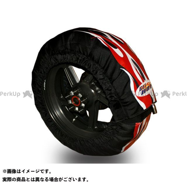 【エントリーで最大P21倍】GET HOT タイヤウォーマー GP-Factory JSB200サイズ カラー:赤白 ゲットホットタイヤウォーマー