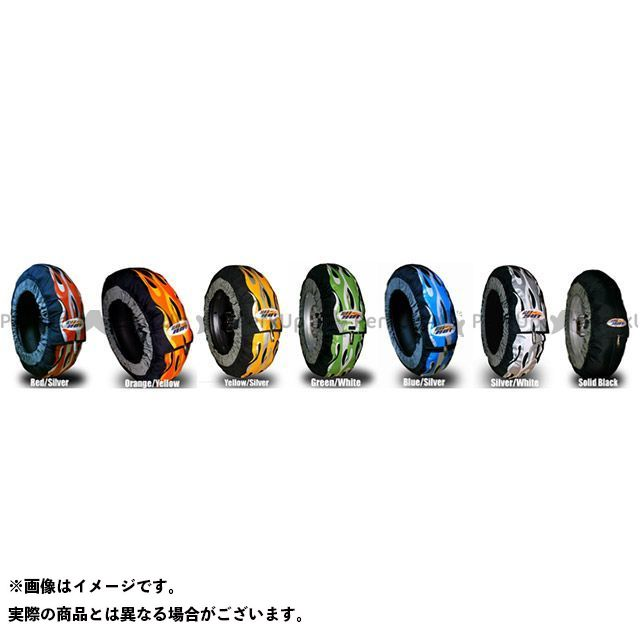 GET HOT タイヤウォーマー 汎用 GP-EVOLUTION 250/モタードサイズ オレンジ/イエロー ゲットホットタイヤウォーマー