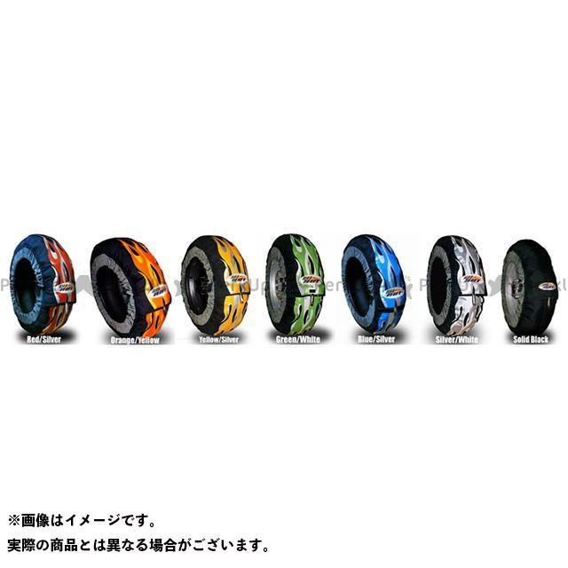【エントリーで最大P21倍】GET HOT タイヤウォーマー 汎用 GP-EVOLUTION スクーター10インチサイズ カラー:ブルー/シルバー ゲットホットタイヤウォーマー