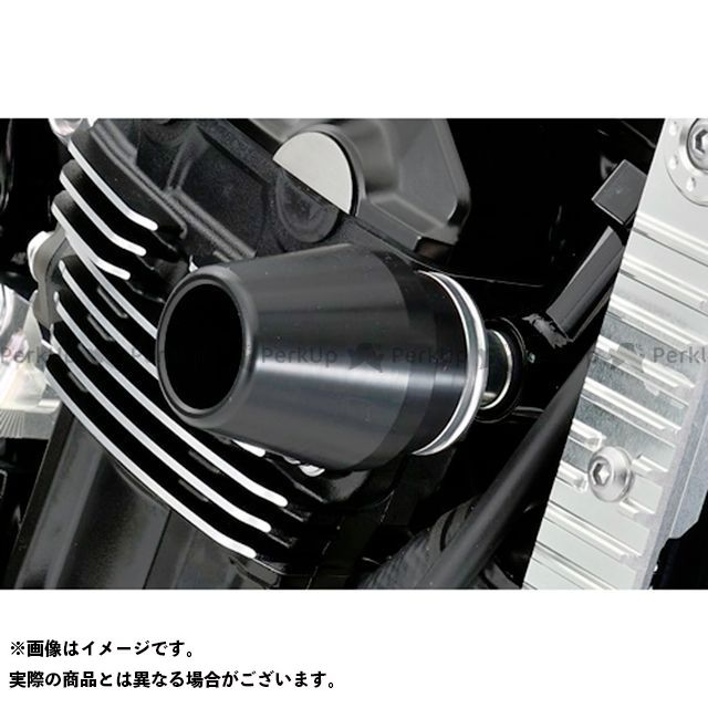 アグラス Z900RS レーシングスライダー フレームタイプ φ60 ジュラコンカラー:ホワイト AGRAS