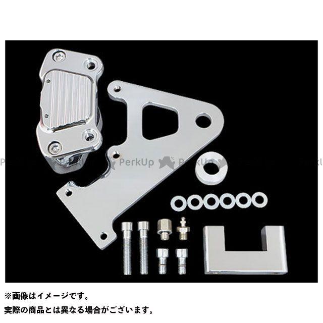 GMA FXR スーパーグライド 2ポッドリブブレーキキット85-99yFXRR11.5inクローム ジーエムエー