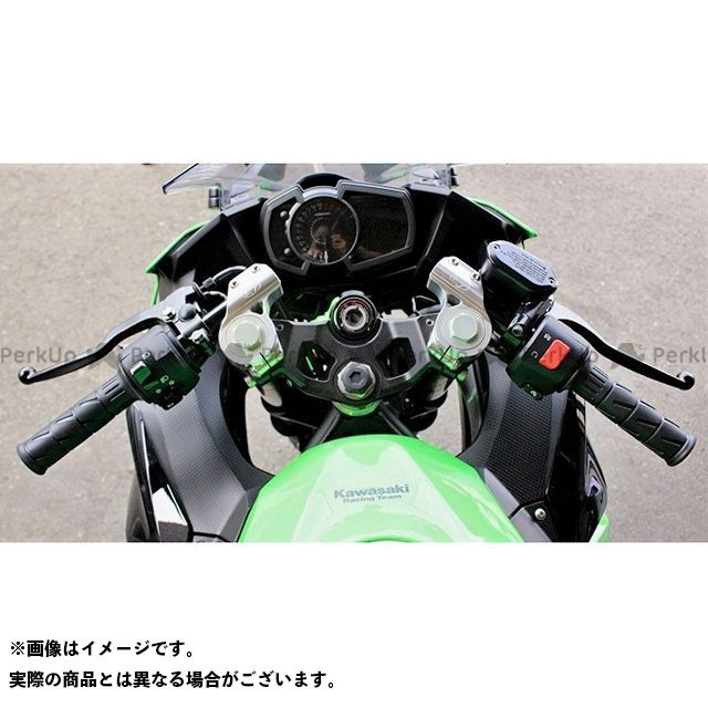 BEET ニンジャ250 ニンジャ400 レーシングハンドルキット(シルバー) ビートジャパン