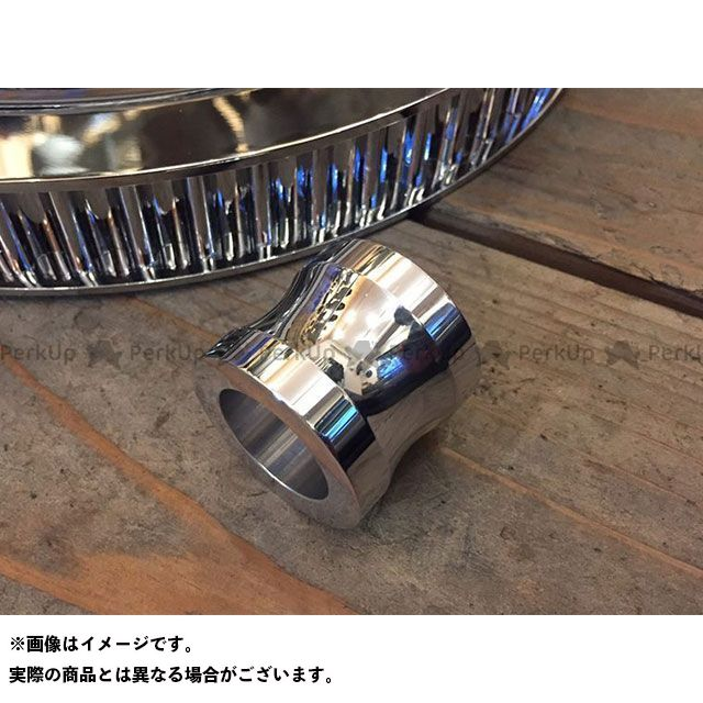 トランプ Tramp Cycle その他駆動系パーツ プーリーボルト+ スペーサーSET(ポリッシュ)
