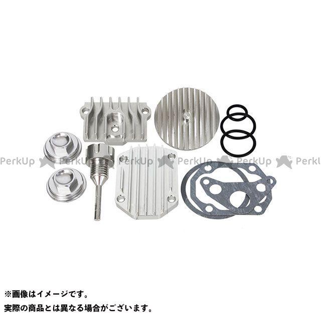 田中商会 モンキー スーパーカブ50 モンキー・ダックスシリンダーヘッド用アルミビレットカバー6点セット タナカショウカイ