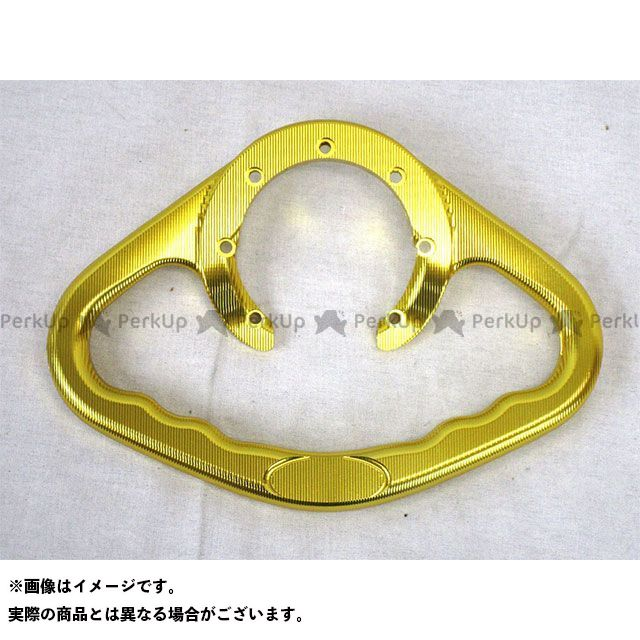 Chops チョップス タンデム用品 タンクグラブバー(ゴールド)YZF-R1/R6(-16)・MT07(14-16)・FZ1/FAZER(06-16)