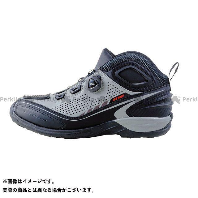elf shoes EL016 Synthese16(シンテーゼ16)グレー 25.5cm エルフシューズ