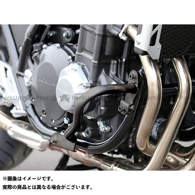 キジマ CB1300スーパーボルドール CB1300スーパーフォア(CB1300SF) エンジンガード(ブラック) KIJIMA