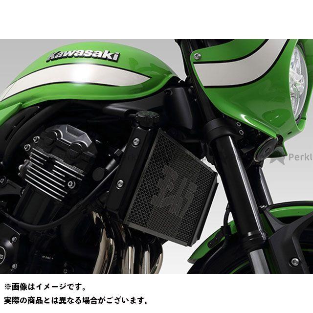 ヨシムラ Z900RS Z900RSカフェ ラジエター関連パーツ ラジエターコアプロテクター Black Oxide