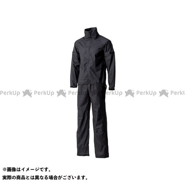 Motor Samurai MSR-01 ウルトラライトレインスーツ(ブラック) M メーカー在庫あり モーターサムライ