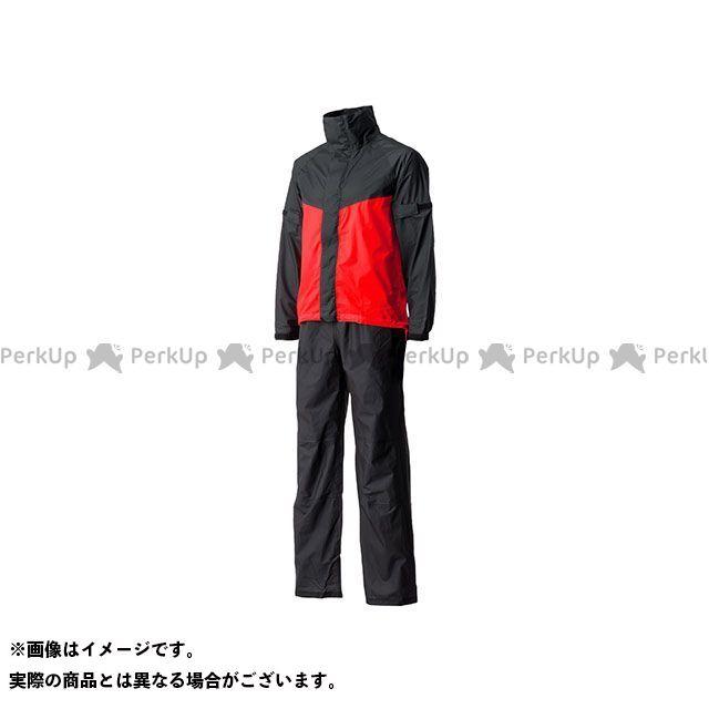Motor Samurai MSR-01 ウルトラライトレインスーツ(レッド) XL メーカー在庫あり モーターサムライ