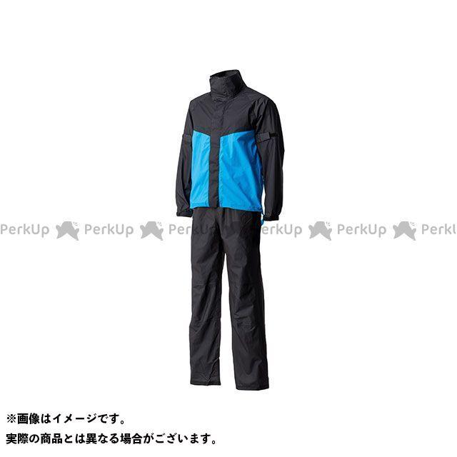 Motor Samurai MSR-01 ウルトラライトレインスーツ(ブルー) XL メーカー在庫あり モーターサムライ