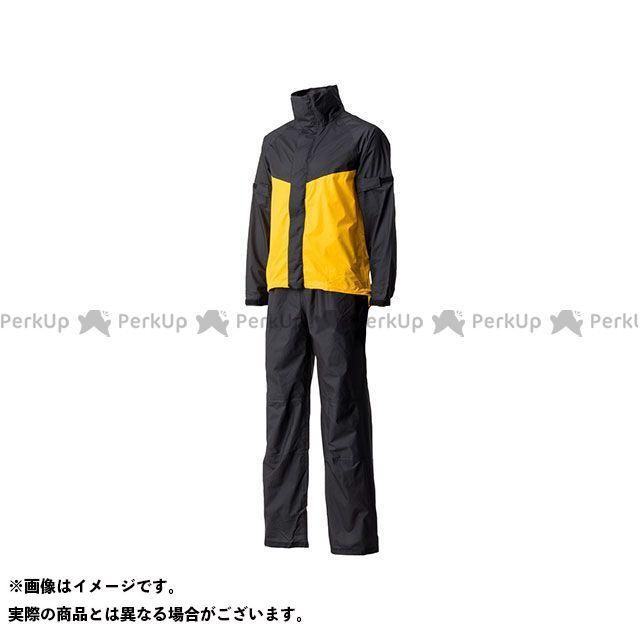 Motor Samurai MSR-01 ウルトラライトレインスーツ(イエロー) XL メーカー在庫あり モーターサムライ