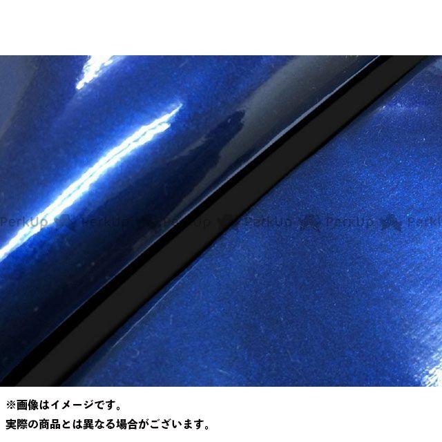 【無料雑誌付き】グロンドマン PCX125 PCX125 国産シートカバー エナメルブルー タイプ:被せ 仕様:黒パイピング 型式:JF56 Grondement