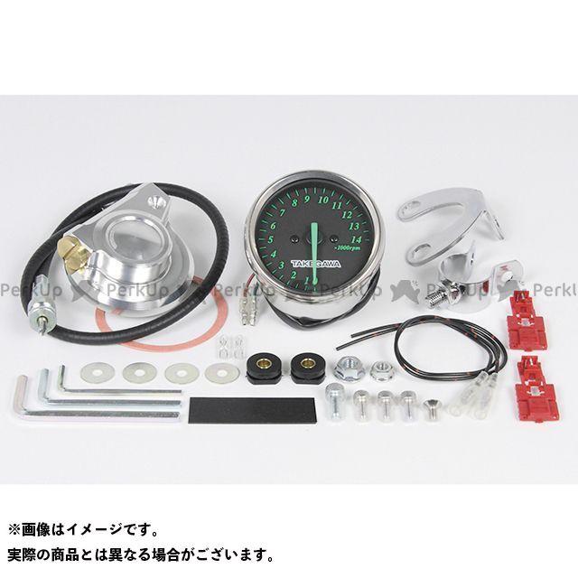 SP武川 ゴリラ モンキー モンキーバハ タコメーターキット 機械式/1:6.5(ブラック&グリーン) TAKEGAWA