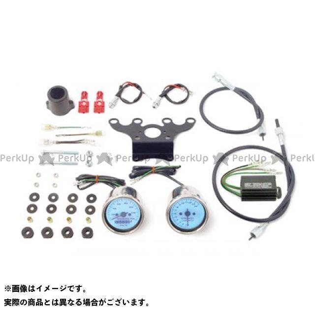 SP武川 ゴリラ モンキー スピードメーター&機械式タコメーターキット(ブルーLED) TAKEGAWA