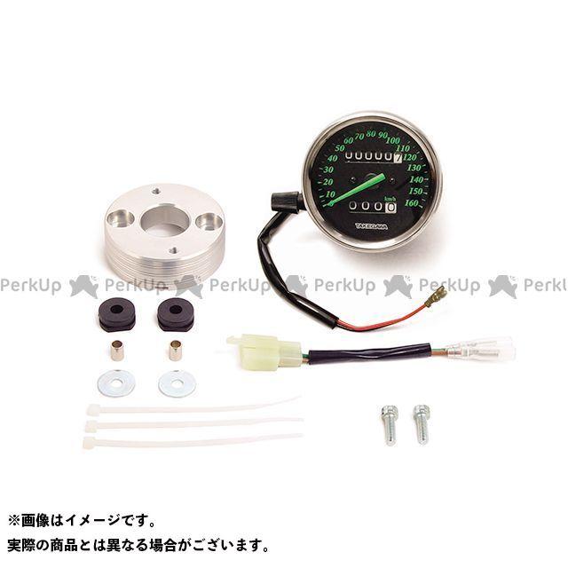 送料無料 SP武川 XR100モタード XR50モタード メーターキット関連パーツ スピードメーターキット(ブラック&グリーン)