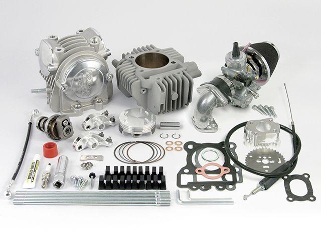 送料無料 SP武川 KSR110プロ KSR110 ボアアップキット スペシャルプライスキャンペーン スーパーヘッド4V+Rコンボキット SCUT(178cc)