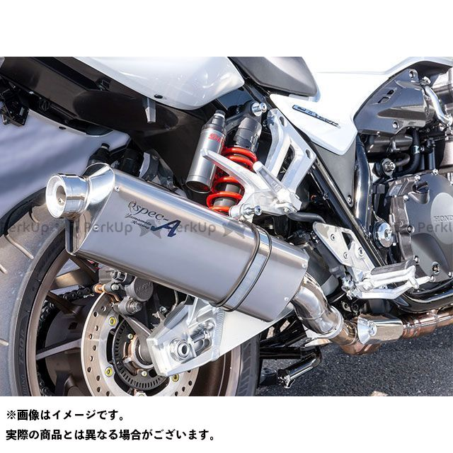 【エントリーで更にP5倍】ヤマモトレーシング CB1300スーパーボルドール CB1300スーパーフォア(CB1300SF) 18~CB1300SB/SF SPEC-A SLIP-ON TYPE-S YAMAMOTO RACING