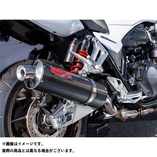 【エントリーで最大P21倍】ヤマモトレーシング CB1300スーパーボルドール CB1300スーパーフォア(CB1300SF) 18~CB1300SB/SF SPEC-A SLIP-ON カーボン YAMAMOTO RACING