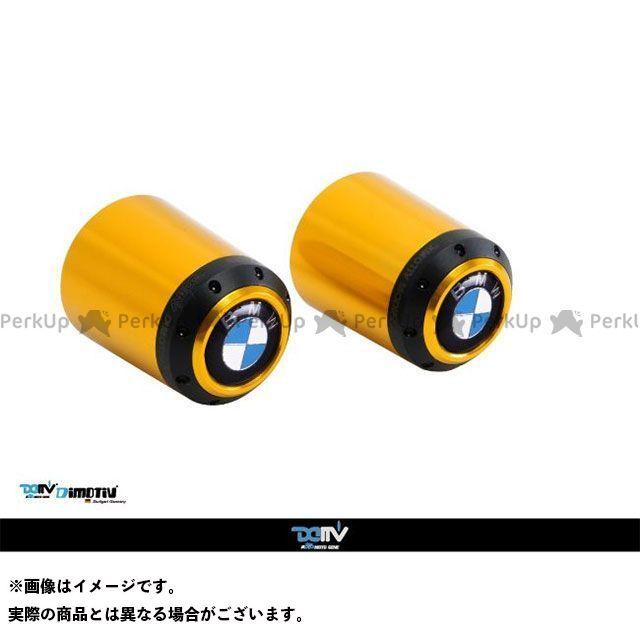 【エントリーで最大P23倍】ディモーティブ ハンドルバーエンド F800S/ST カラー:シルバー Dimotiv
