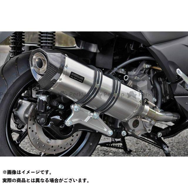 【エントリーで最大P23倍】ビームス Xマックス250 GT-CORSA フルエキゾーストマフラー ステンレス 政府認証 BEAMS