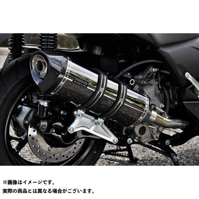 【エントリーで最大P23倍】ビームス Xマックス250 GT-CORSA フルエキゾーストマフラー SMB(スーパーメタルブラック) 政府認証 BEAMS