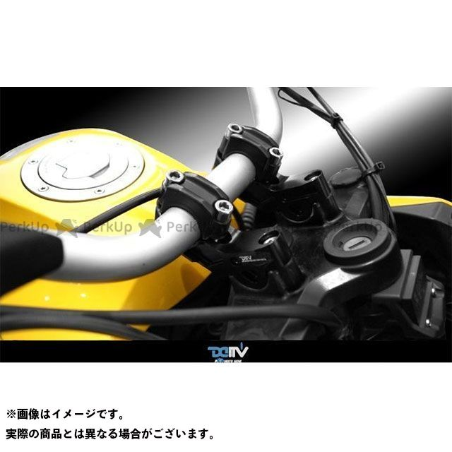 送料無料 ディモーティブ R1200GS R1200GSアドベンチャー ハンドルポスト関連パーツ ハンドルライザー BMW R1200GS/ADV 15UP 30BACK ブラック