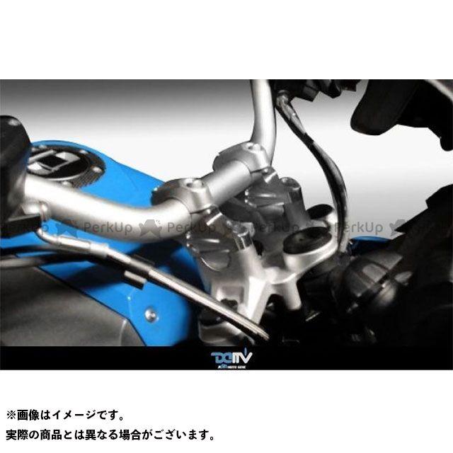 【エントリーで最大P21倍】ディモーティブ R1200GS R1200GSアドベンチャー ハンドルライザー BMW R1200GS カラー:シルバー Dimotiv