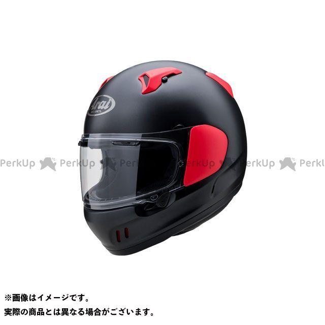 アライ ヘルメット Arai フルフェイスヘルメット XD(エックス・ディー) フラットブラック/レッド 57-58cm