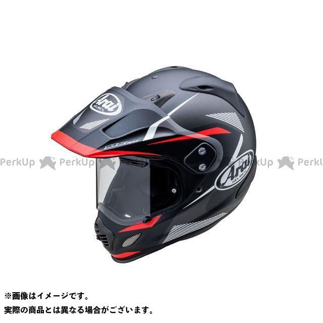送料無料 アライ ヘルメット Arai オフロードヘルメット TOUR CROSS 3 BREAK(ツアークロス3・ブレイク) ブラック/レッド 55-56cm
